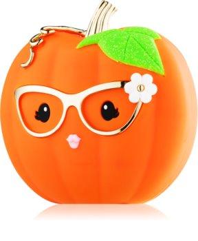 Bath & Body Works PocketBac Cute Halloween Pumpkin embalagem de slicone com gel antibacteriano
