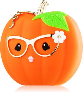 Bath & Body Works PocketBac Cute Halloween Pumpkin funda de silicona para gel antibacteriano
