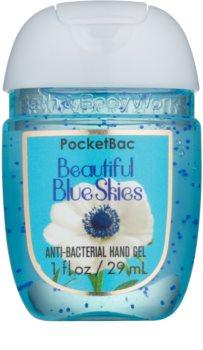 Bath & Body Works PocketBac Beautiful Blue Skies gel para manos