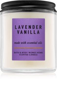 Bath & Body Works Lavender Vanilla vonná sviečka
