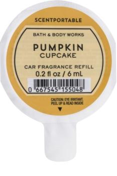 Bath & Body Works Pumpkin Cupcake aроматизатор за автомобил резервен пълнител