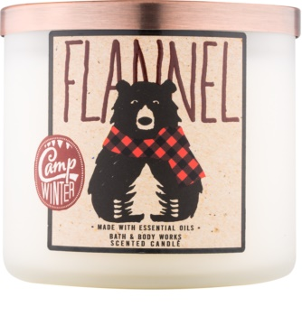 Bath & Body Works Camp Winter Flannel Scented Candle 411 g