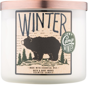 Bath & Body Works Camp Winter Winter lumânare parfumată  411 g