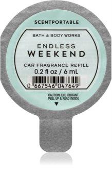 Bath & Body Works Endless Weekend aроматизатор за автомобил резервен пълнител