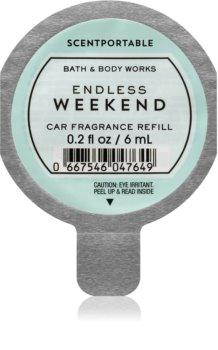 Bath & Body Works Endless Weekend car air freshener Refill