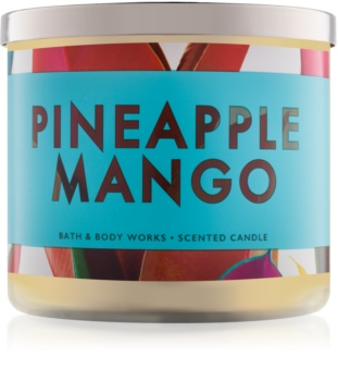 Bath & Body Works Pineapple Mango vonná svíčka II.