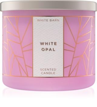 Bath & Body Works White Opal duftkerze