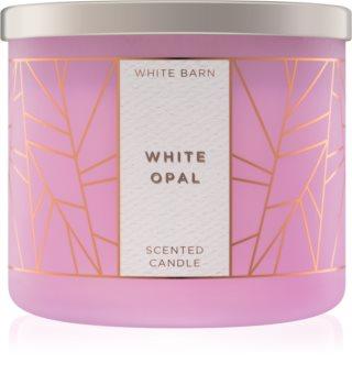Bath & Body Works White Opal vonná svíčka