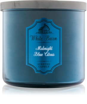 Bath & Body Works Midnight Blue Citrus scented candle I.