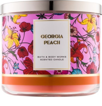 Bath & Body Works Georgia Peach duftkerze  I.