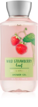 Bath & Body Works Wild Strawberry Leaf Shower Gel for Women