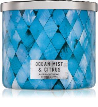 Bath & Body Works Ocean Mist & Citrus bougie parfumée