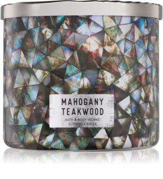 Bath & Body Works White Barn Mahogany Teakwood vonná sviečka