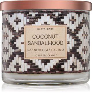 Bath & Body Works Coconut Sandalwood ароматна свещ