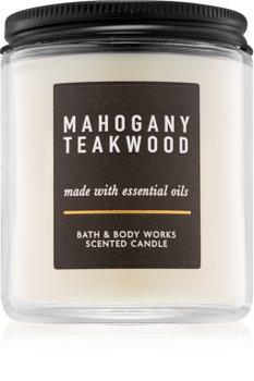 Bath & Body Works Mahogany Teakwood candela profumata III