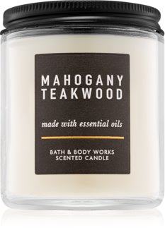 Bath & Body Works Mahogany Teakwood świeczka zapachowa  III.