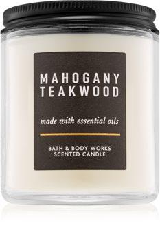 Bath & Body Works Mahogany Teakwood vonná svíčka III.