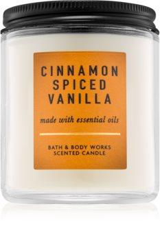 Bath & Body Works Cinnamon Spiced Vanilla dišeča sveča  I.