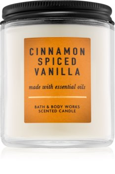 Bath & Body Works Cinnamon Spiced Vanilla vela perfumada  I.