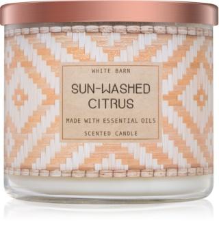 Bath & Body Works Sun-Washed Citrus duftkerze  II.