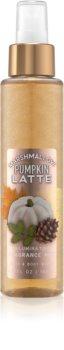 Bath & Body Works Marshmallow Pumpkin Latte Bodyspray glitzernd für Damen
