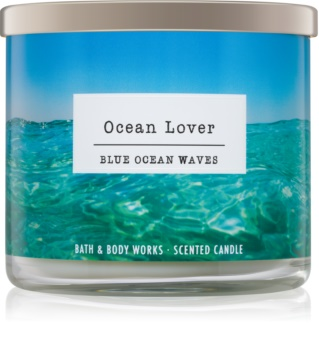 Bath & Body Works Blue Ocean Waves bougie parfumée I. Ocean Lover