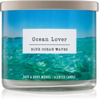 Bath & Body Works Blue Ocean Waves illatos gyertya  I. Ocean Lover