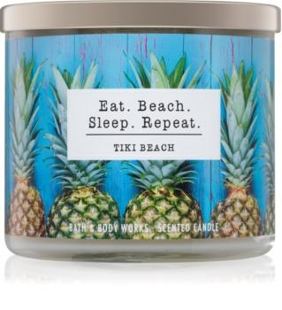 Bath & Body Works Tiki Beach duftkerze  I. Eat. Beach. Sleep. Repeat.