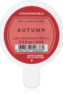 Bath & Body Works Autumn vůně do auta náhradní náplň