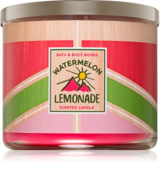 Bath & Body Works Watermelon Lemonade scented candle I.