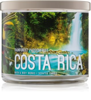 Bath & Body Works Rainforest Passionfruit scented candle Costa Rica