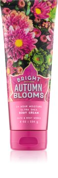 Bath & Body Works Bright Autumn Blooms Body Cream for Women