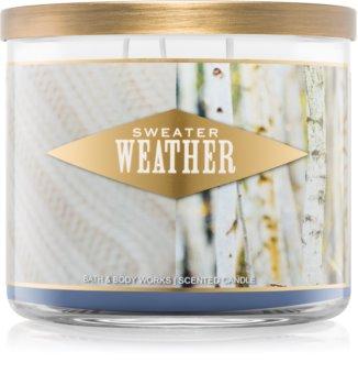 Bath & Body Works Sweater Weather vela perfumada I.