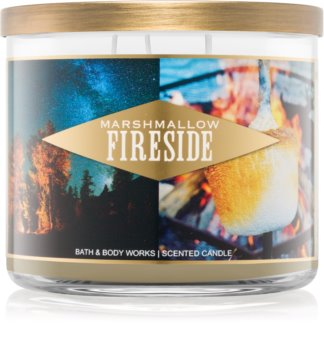 Bath & Body Works Marshmallow Fireside lumânare parfumată  I.