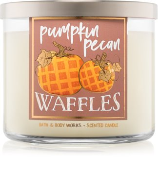Bath & Body Works Pumpkin Pecan Waffles bougie parfumée