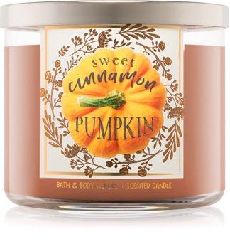Bath & Body Works Sweet Cinnamon Pumpkin bougie parfumée I.