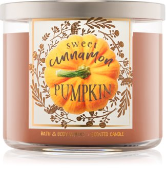 Bath & Body Works Sweet Cinnamon Pumpkin duftkerze  I.