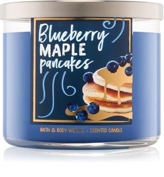 Bath & Body Works Blueberry Maple Pancakes illatos gyertya