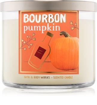 Bath & Body Works Bourbon Pumpkin duftkerze