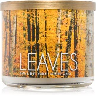 Bath & Body Works Leaves vela perfumada