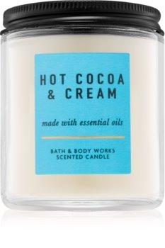 Bath & Body Works Hot Cocoa & Cream bougie parfumée IV.