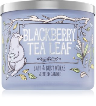 Bath & Body Works Blackberry Tea Leaf vonná svíčka