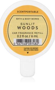 Bath & Body Works Sunlit Woods désodorisant voiture
