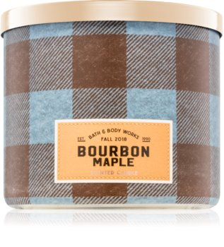 Bath & Body Works Bourbon Maple vonná svíčka I.