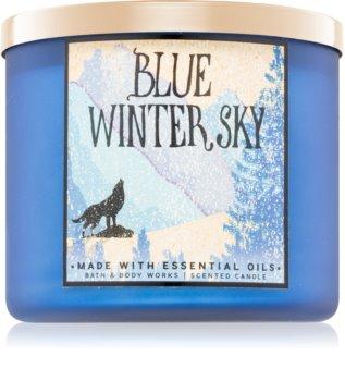 Bath & Body Works Blue Winter Sky bougie parfumée