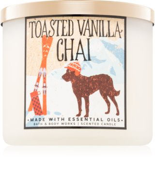 Bath & Body Works Toasted Vanilla Chai vonná sviečka