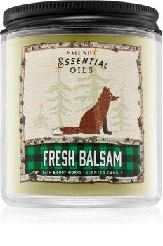 Bath & Body Works Fresh Balsam illatos gyertya