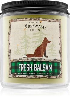 Bath & Body Works Fresh Balsam scented candle I.