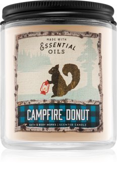 Bath & Body Works Campfire Donut scented candle I.