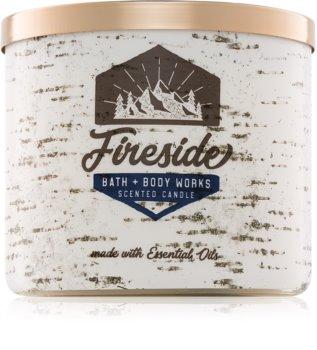Bath & Body Works Fireside duftkerze